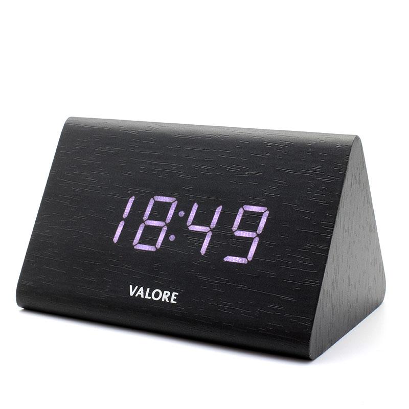 V-LWC169-Wooden-Alarm-Clock-Black-White-LED