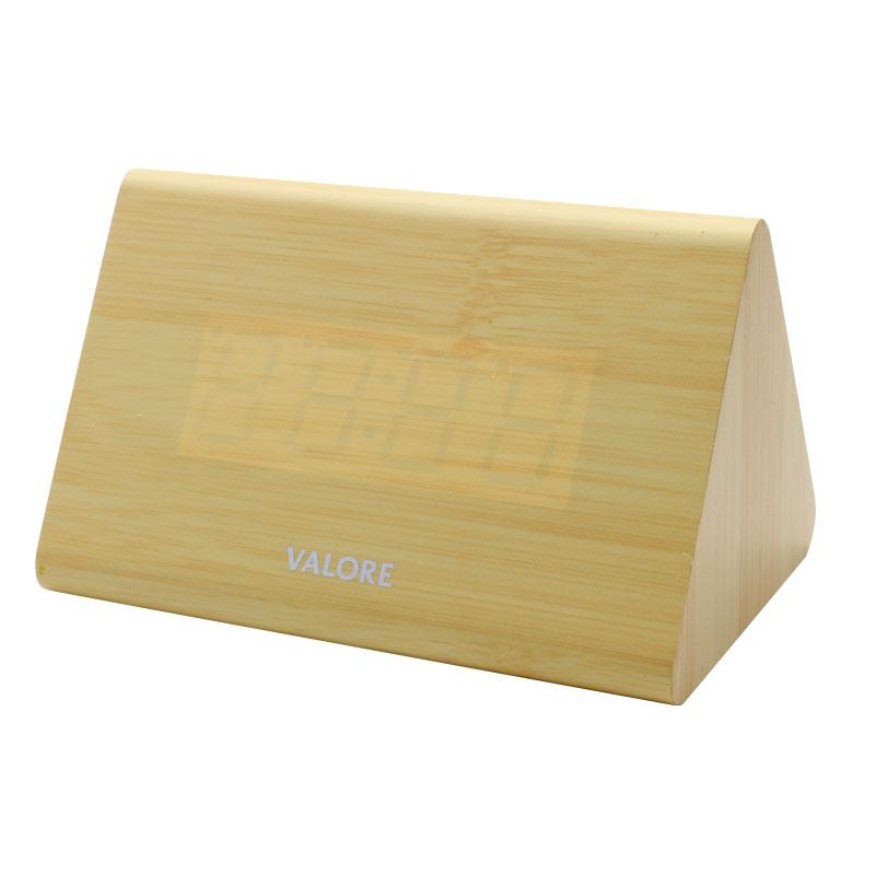 V-LWC169-Wooden-Alarm-Clock-Brown