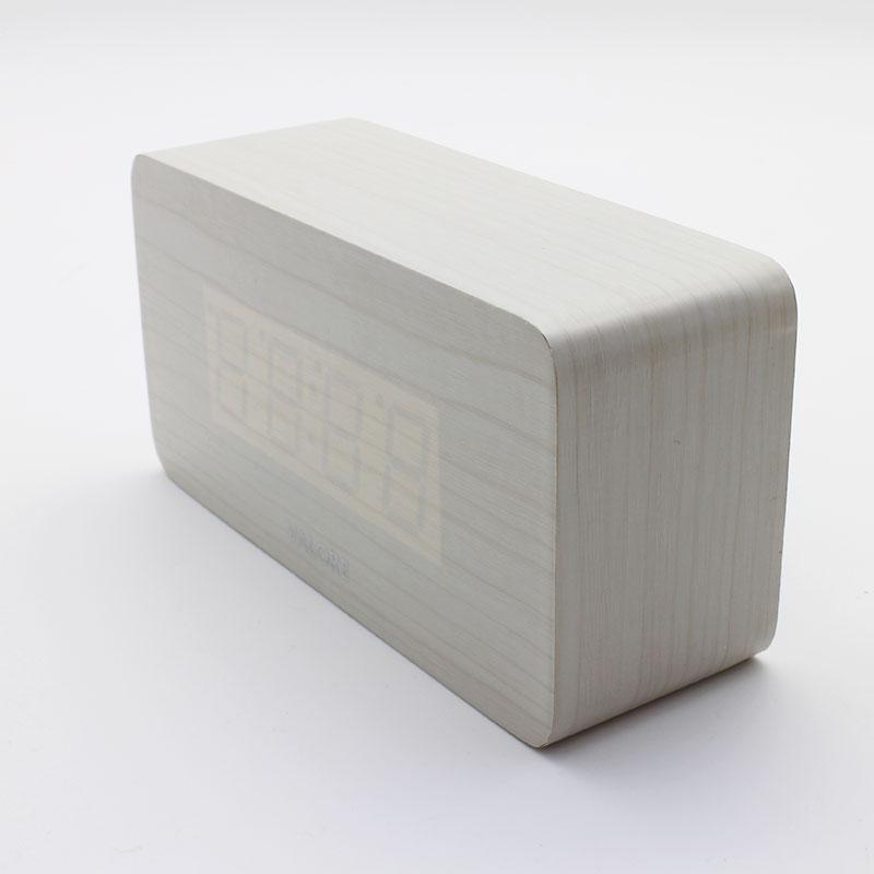 V-LWC170-LED-Wooden-Alarm-Clock-front
