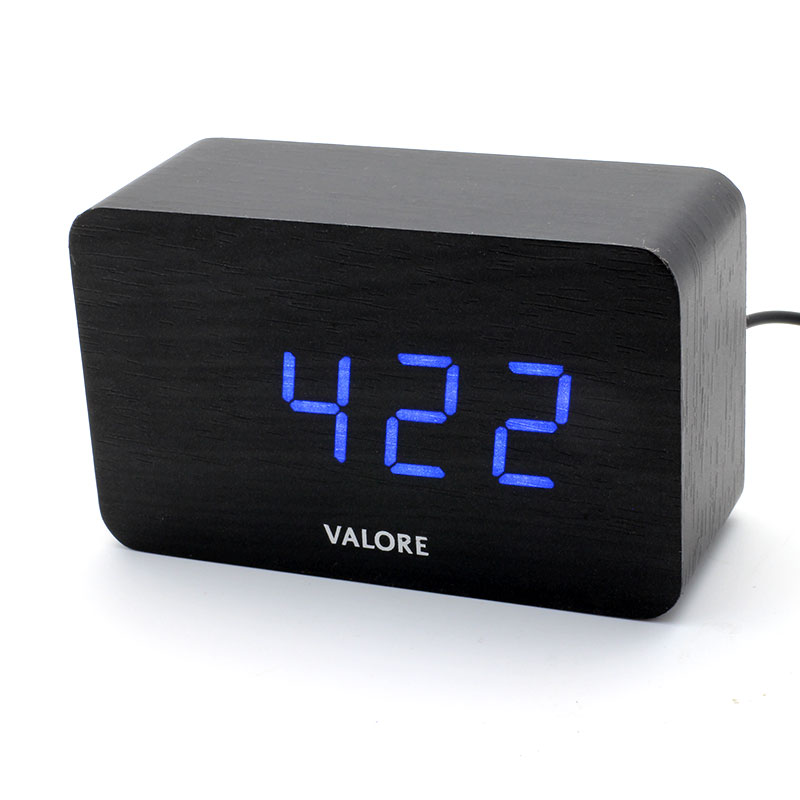 V-LWC171-LED-Wooden-Alarm-Clock-LED-light