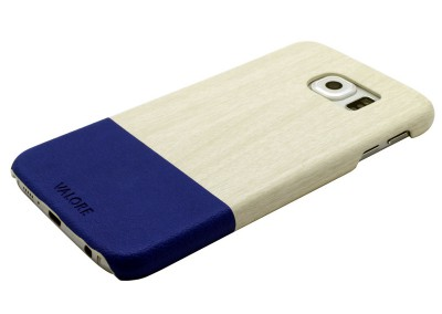 Valore Wood Grain + Leather Case For Samsung S6 (V-MA154)