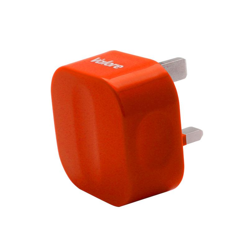 V-MA18-Single-USB-Adapter-Orange