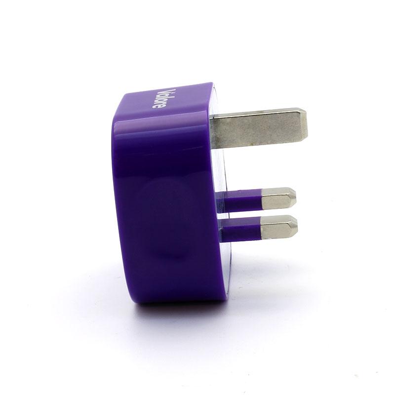 V-MA18-Single-USB-Adapter-Purple-Side