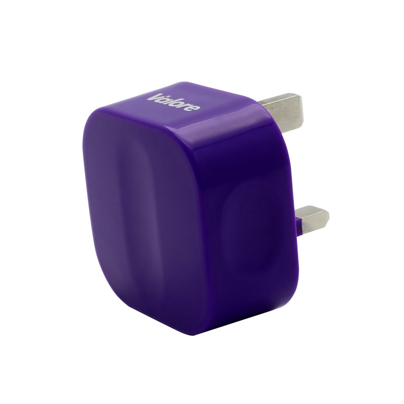 V-MA18-Single-USB-Adapter-Purple