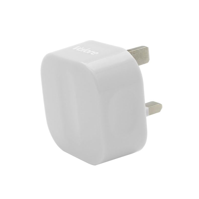 V-MA18-Single-USB-Adapter-White