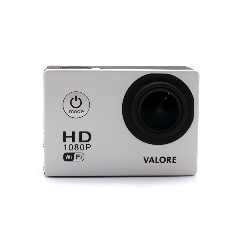 V-VMS601-WiFi-Action-Camera-Grey-Front