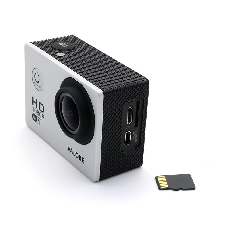 V-VMS601-WiFi-Action-Camera-Grey-with-Mirco-SD-Card