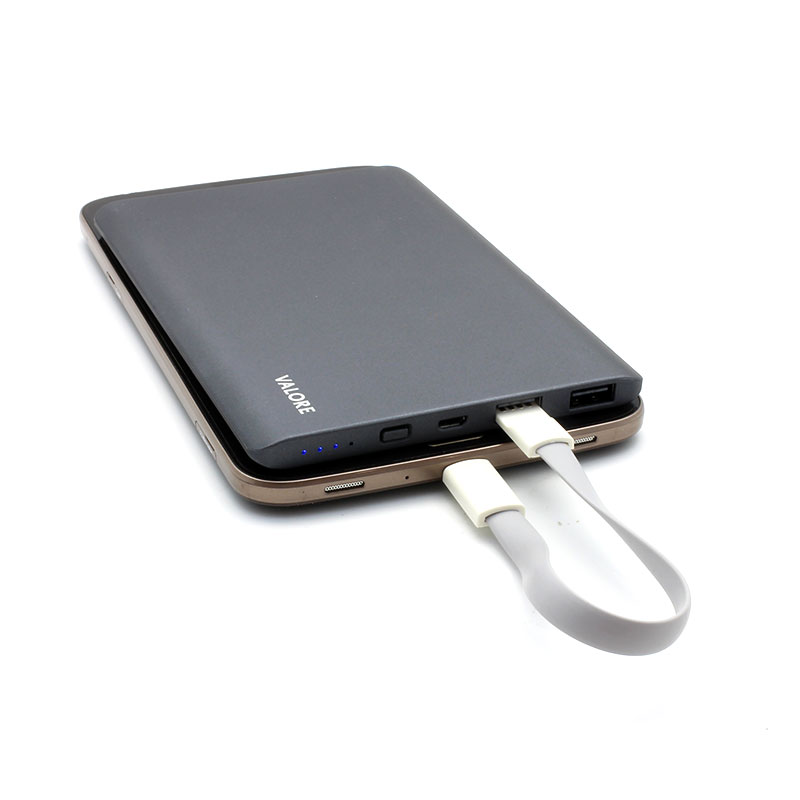 VL-PB214-9000mAh-Power-Bank-Grey-Charging