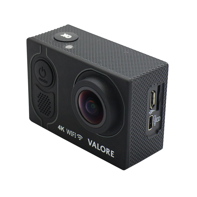 VMS51-Valore-4K-WiFi-Action-Camera-Side