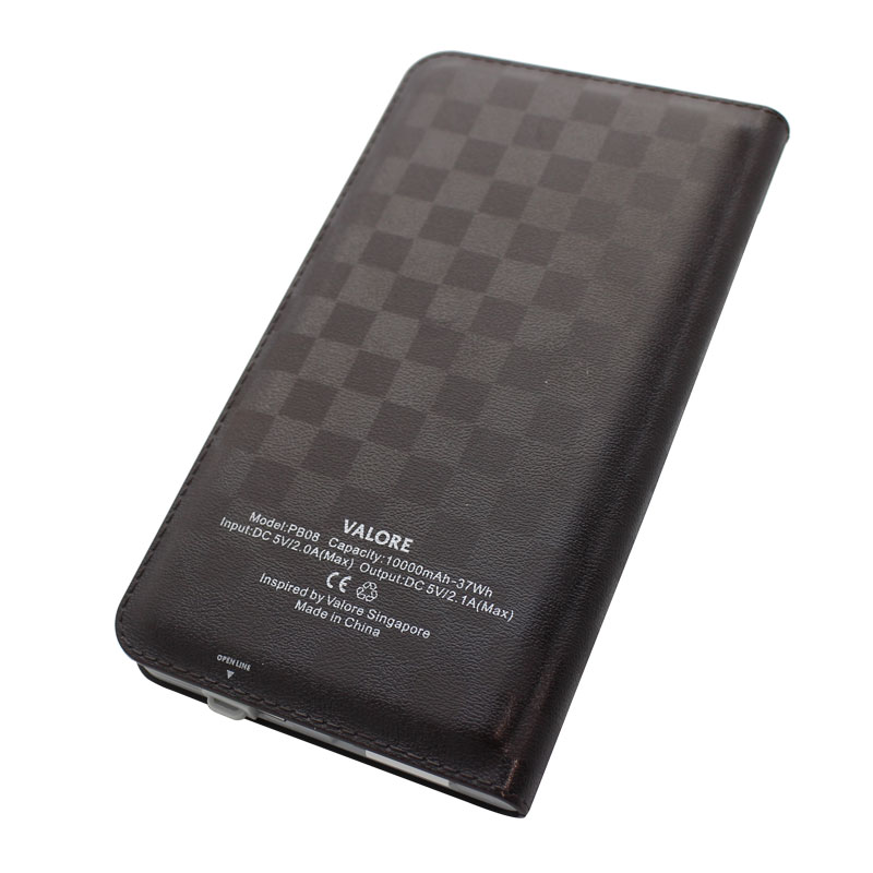 Valore-10000mAh-Power-Bank-Brown-Back(PB08)