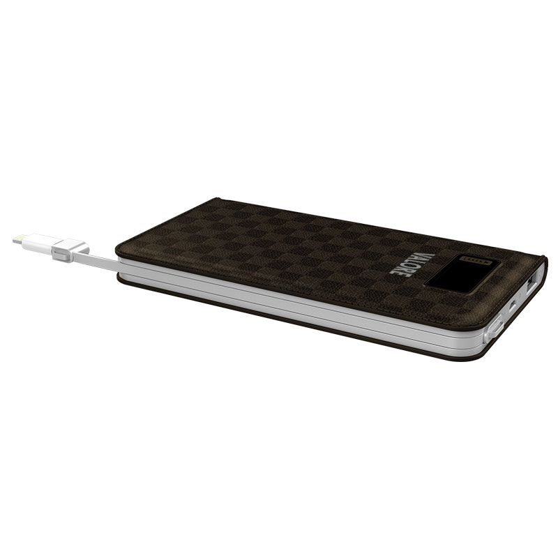 Valore-10000mAh-Power-Bank-Brown-cable-(PB08)