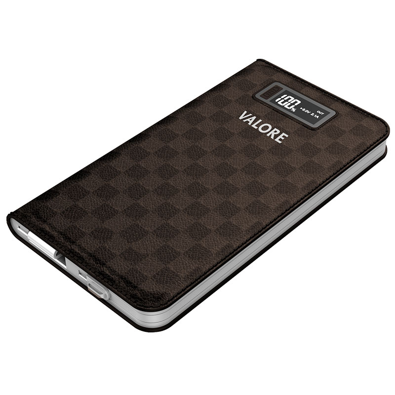Valore-10000mAh-Power-Bank-Brown(PB08)
