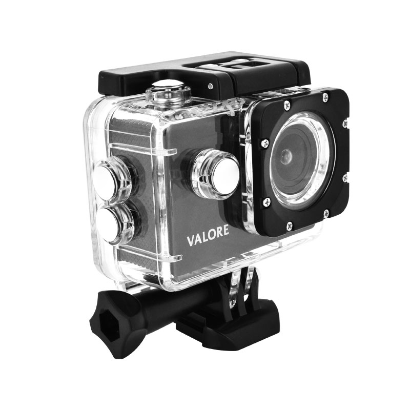 Valore-1080P-Full-HD-Action-Camera-(VMS54)-with-case-side