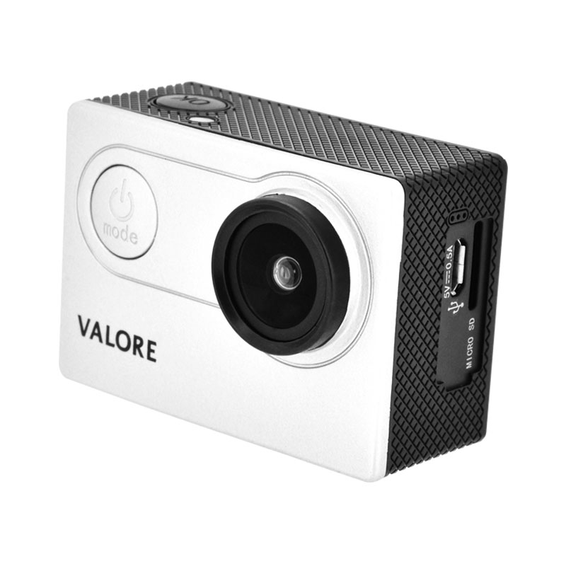 Valore-1080P-Full-HD-Action-Camera-(VMS54)-without-case-Silver