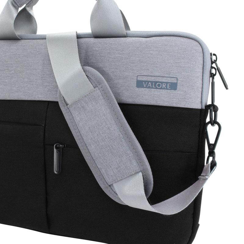 Valore-14-Inch-Laptop-Carry-Case-(MA45)-Black-strap