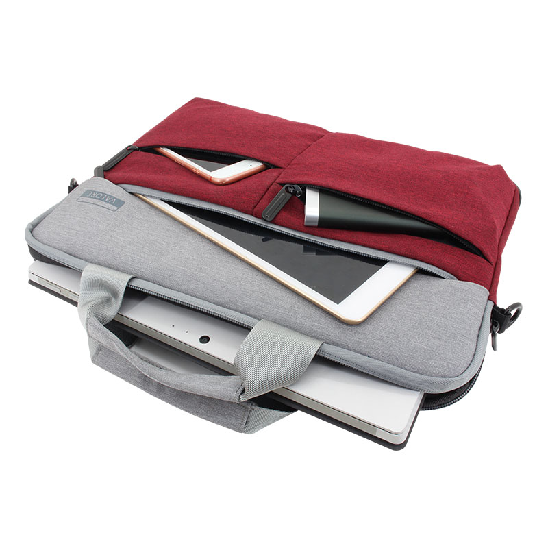 Valore-14-Inch-Laptop-Carry-Case-(MA45)-Red-Storage