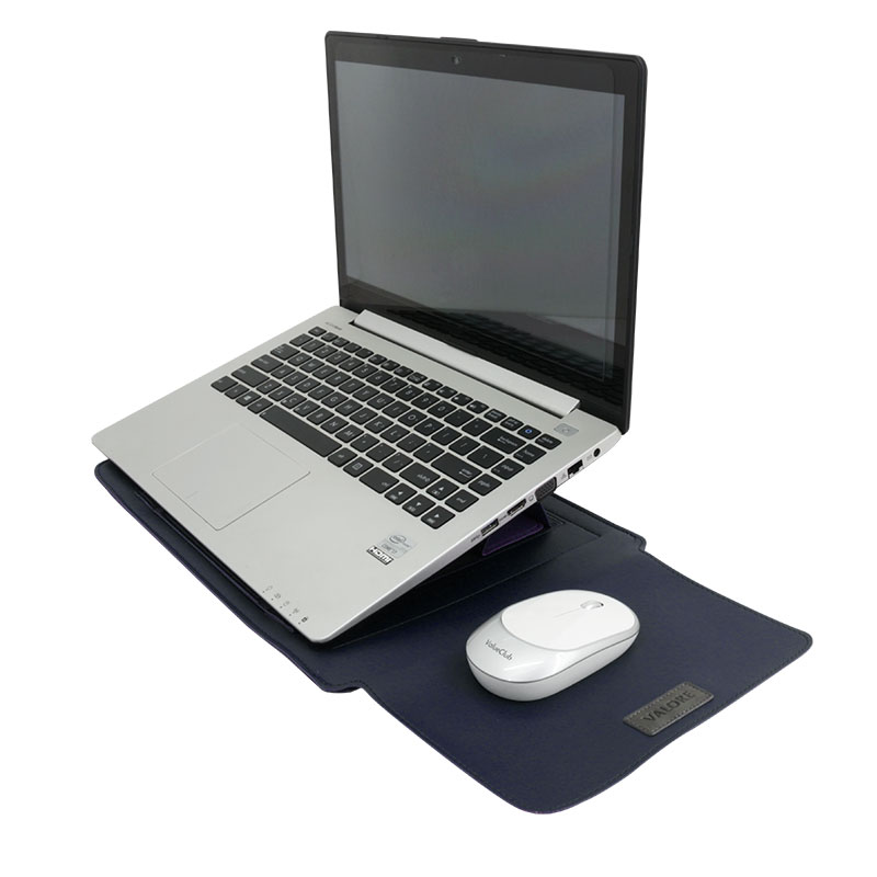 Valore-14-Inch-Laptop-Sleeve-With-Stand-(MA54)--Blue-Iluustration-purpose