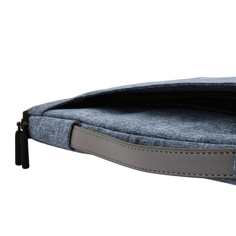 Valore-14'-Laptop-Carry-Case-(MA36)-blue-front-pocket