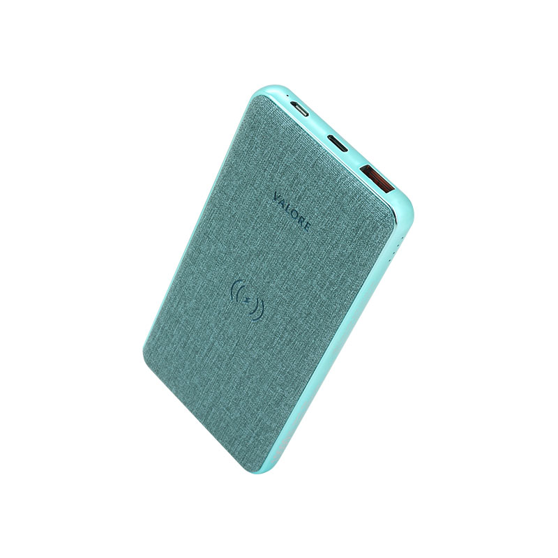 Valore-18W-PD-10000mAh-Power-Bank-with-Wireless-Charging-Function-(PD07)-Blue
