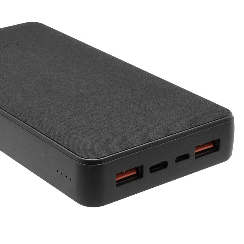 Valore-18W-PD-20000mAh-Power-Bank-(PD09)-(Black)-Charging-port