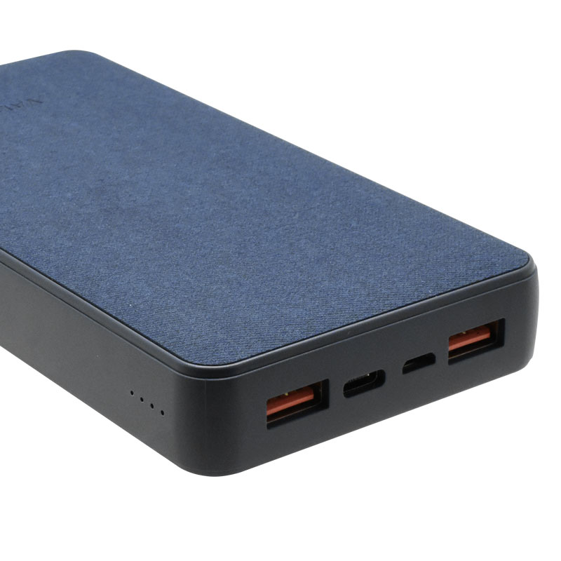 Valore-18W-PD-20000mAh-Power-Bank-(PD09)-(Blue)-Charging-port
