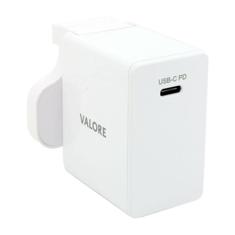Valore-18W-USB-C-PD-Power-Adaptor-(AC-PD18W)-PD-port