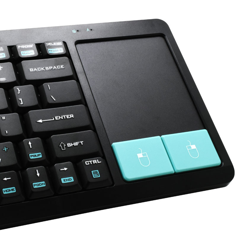 Valore-2.4G-Wireless-Keyboard-With-Touchpad-(AC85)Built-in-Mousepad