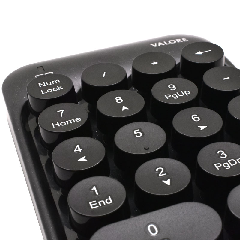 Valore-24G-Wireless-Numeric-Pad-(AC70)-buttons