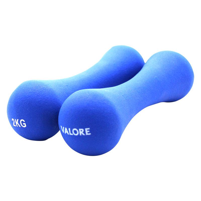 Valore-2kg-Dumbbell-Blue