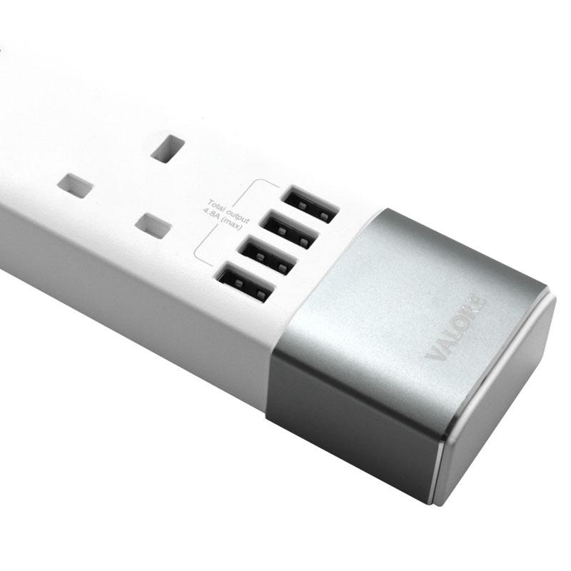 Valore-3-Way-Power-Strip-With-4-USB-Ports-(AC50)-USB-portrs