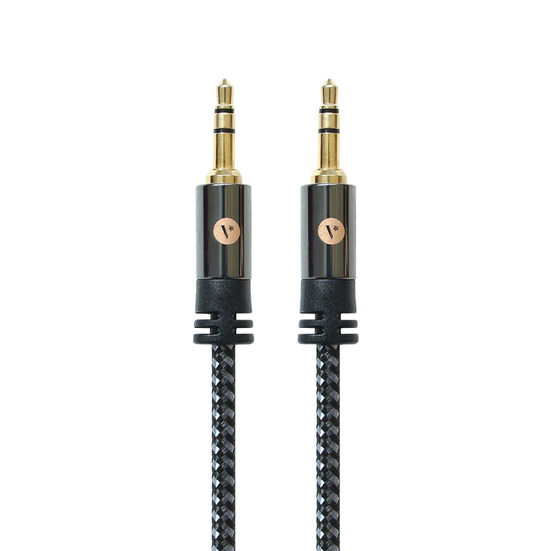 Valore-3.5mm-Male-To-Male-Braided-Audio-Cable-(AC91)