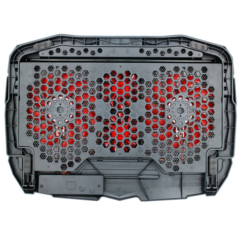 Valore-4-Fans-Cooling-Pad-(AC38)-Red-back