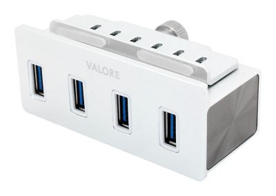 Valore 4-Port USB 3.0 Aluminium Clamp Hub (VUH-24)