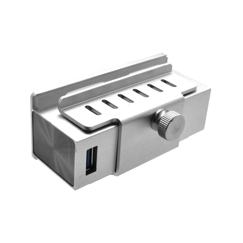 Valore-4-Port-USB-3.0-Aluminium-Clamp-Hub-(VUH-24)-Clamp