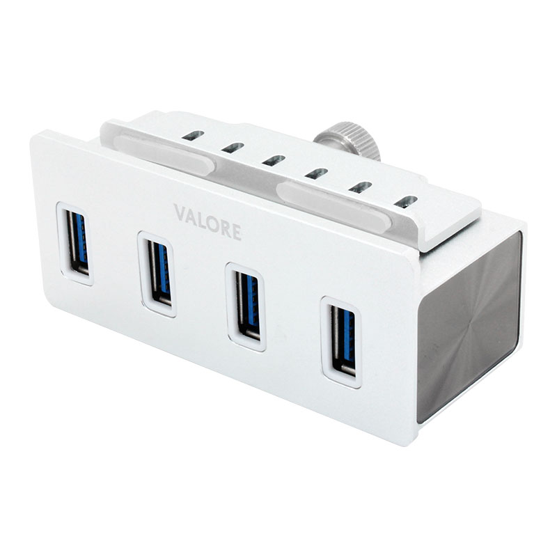 Valore-4-Port-USB-3.0-Aluminium-Clamp-Hub-(VUH-24)