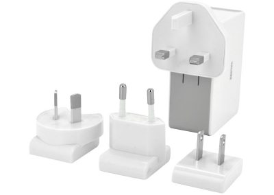 Valore 4-Port USB Travel Adaptor Kit Bundle (JK050500-S23EUU)