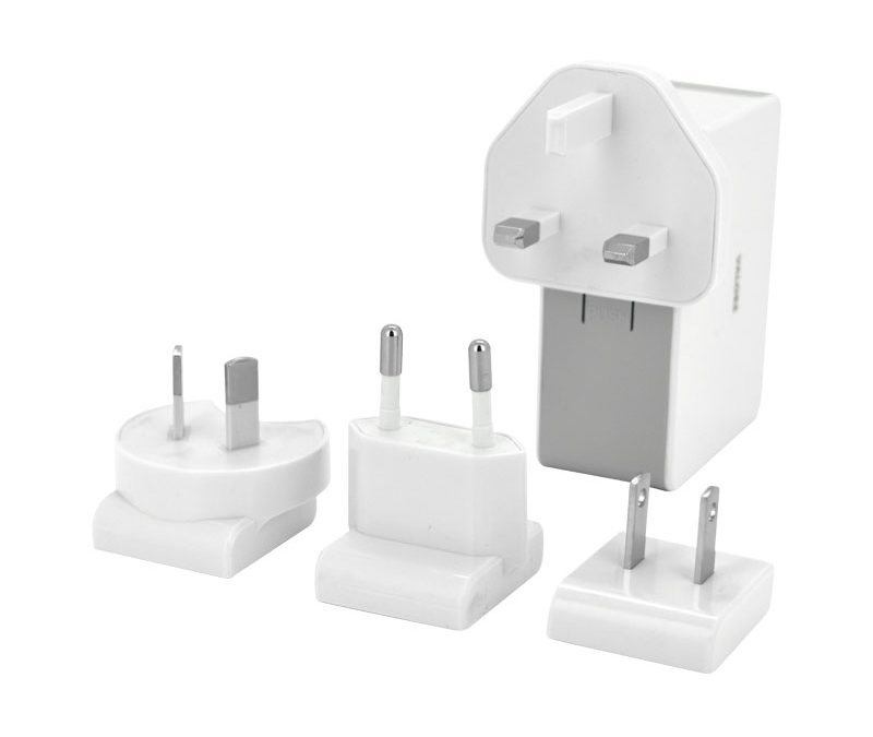 Valore 4-Port USB Travel Adaptor Kit Bundle (JK050500-S23EUU)