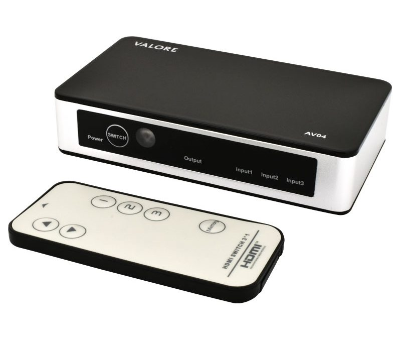 Valore 4K HDMI Switch Box (AV04)