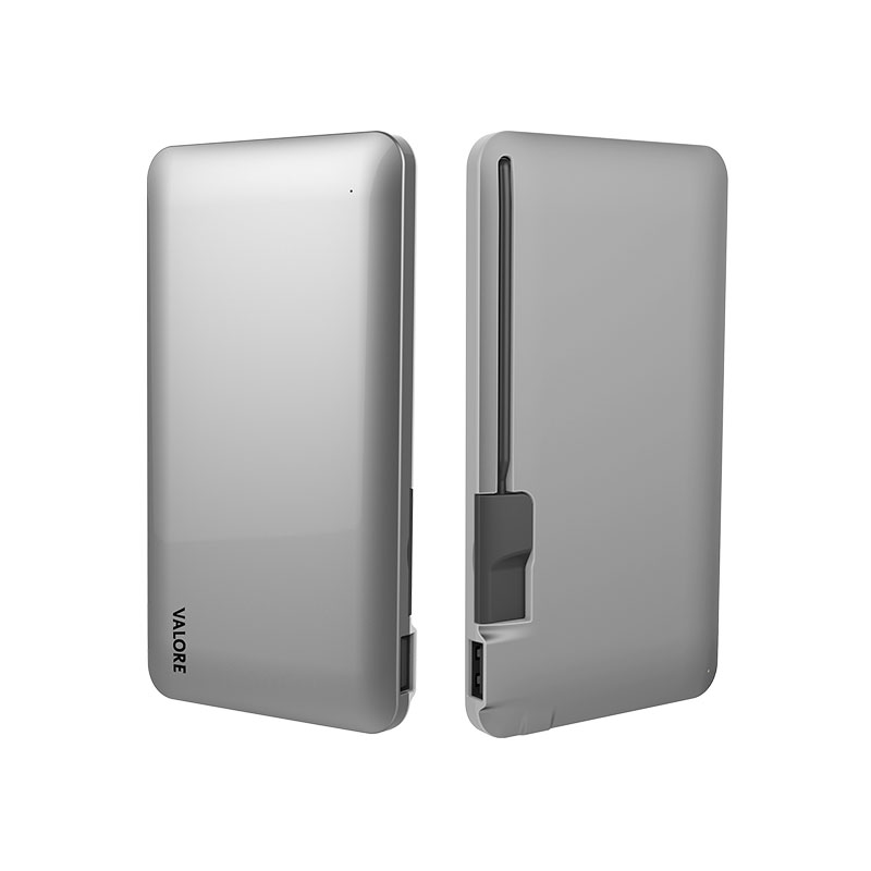 Valore-6000mAh-Power-Bank-Silver-(PB11)