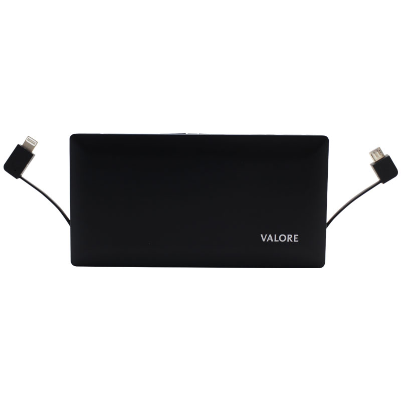 Valore-7000mAh-Power-Bank-With-Cables--Black(PB04)