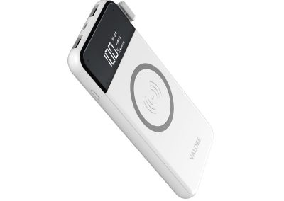 Valore ALL-ROUNDER – 8000mAh Power Bank with wireless charging function (PB27)