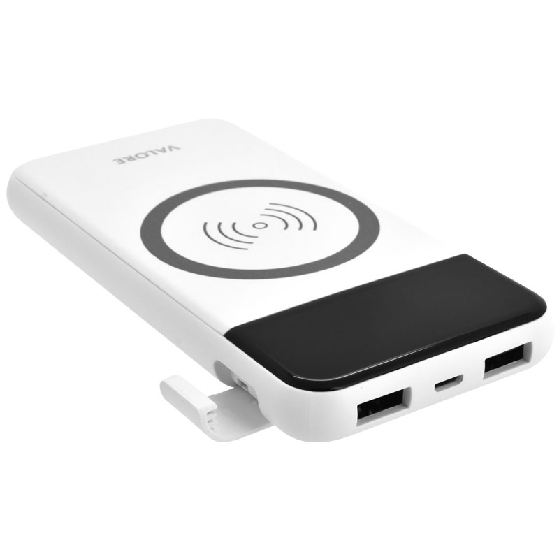 Valore-ALL-ROUNDER---8000mAh-Power-Bank-with-wireless-charging-function-(PB27)-Built-in-phone-stand