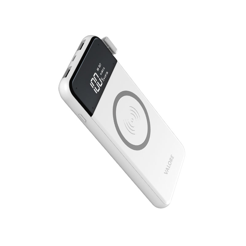 Valore-ALL-ROUNDER---8000mAh-Power-Bank-with-wireless-charging-function-(PB27)