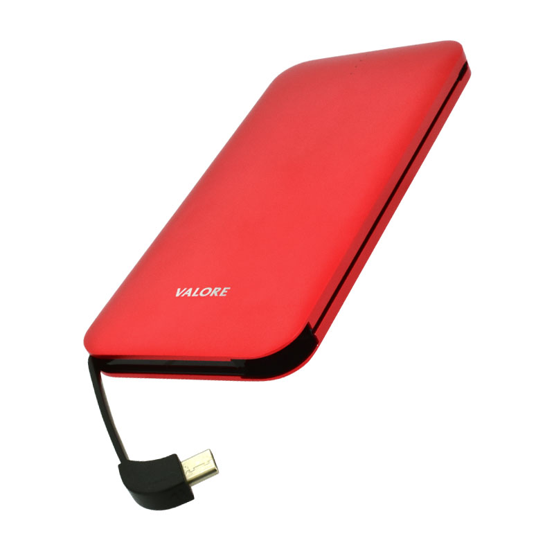 Valore-AMPHIBIAN---10000mAh-Power-Bank-(PB25)-Red-type-c-output