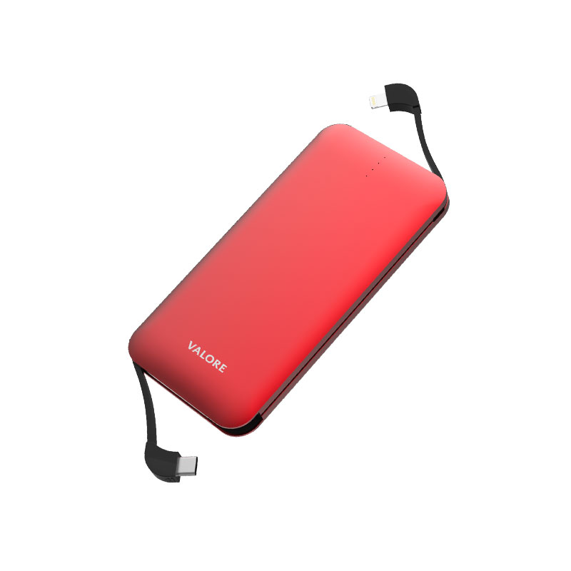 Valore-AMPHIBIAN---10000mAh-Power-Bank-(PB25)-Red