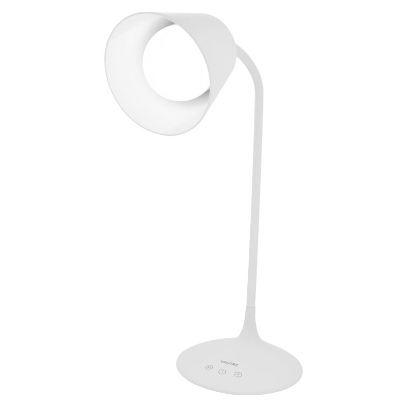 Valore-Adjustable-Gooseneck-LED-Table-Lamp-(LTL16)-Cool-light