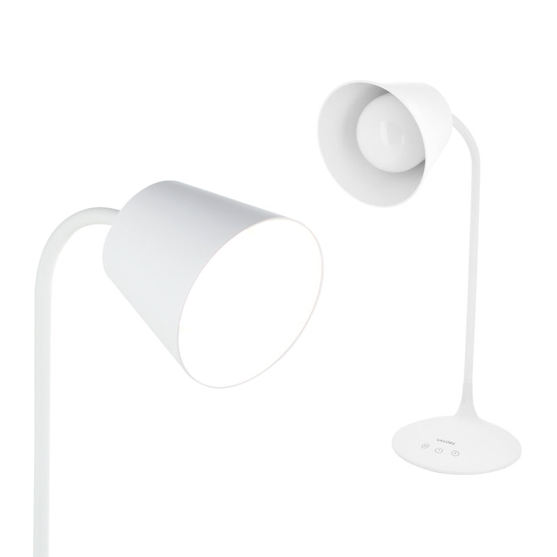 Valore-Adjustable-Gooseneck-LED-Table-Lamp-(LTL16)-with-and-without-light