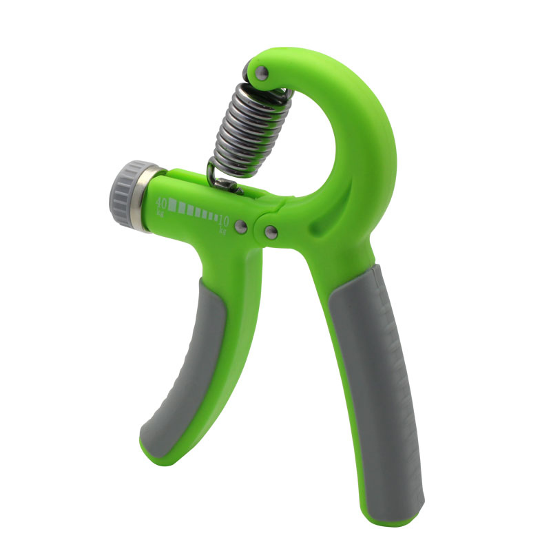 Valore-Adjustable-Hand-Grip-(VHA-005)-Green-Back