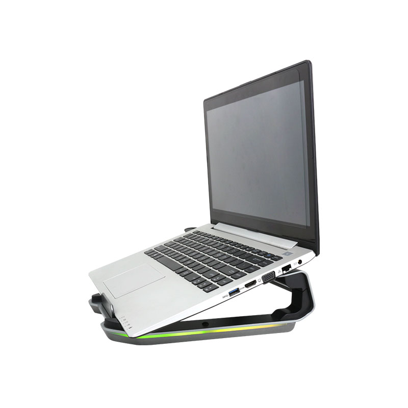 Valore-Aluminium-Laptop-Stand-with-RGB-Lighting-(AC138)