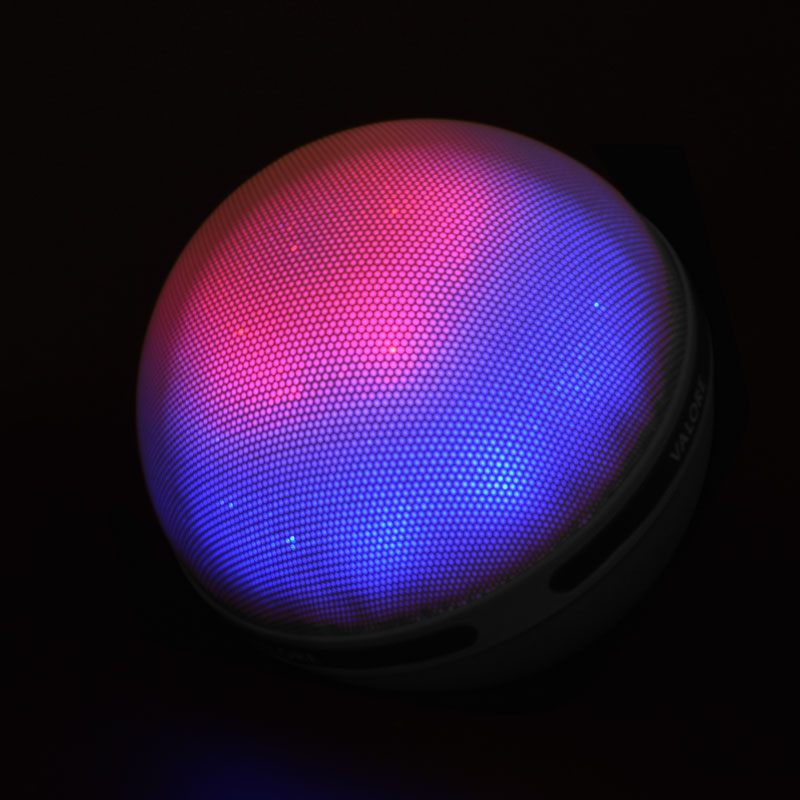 Valore-Aurora-Wireless-Speaker-With-Moodlight-(BTS21)-Grey-Moodlight